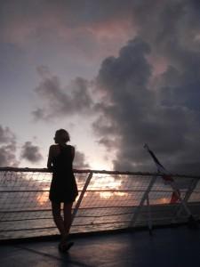At sea 1 R